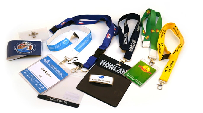 Lanyards, ID Badges, ID Cards